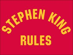 57b3883ea It's time to celebrate the horror movie classic Monster Squad! We've  recreated the awesome Stephen King Rules shirt worn in the movie.