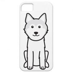 Icelandic Sheepdog Dog Cartoon iPhone 5 Cases