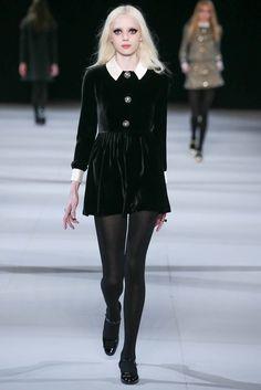 Saint Laurent Fall 2014 Ready-to-Wear Fashion Show - Esmeralda Seay-Reynolds (Next)