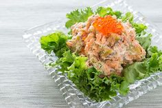 Try this salmon and potato salad recipe from PBS Food for a filling lunch idea with chunks of potato, scallions, and sour cream. Fish Recipes, Seafood Recipes, Asian Recipes, Ethnic Recipes, Salmon Potato, Potato Salad, Martha Stewart Cooking School, Food Network Recipes, Cooking Recipes