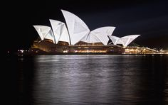 Sydney Opera House | Lighting the Sails by Flickr user Leighton3210