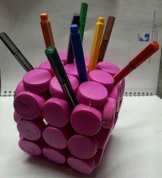 10+Ideas+con+Tapas+de+Plástico+Recicladas+⋆+Siendo+Saludable