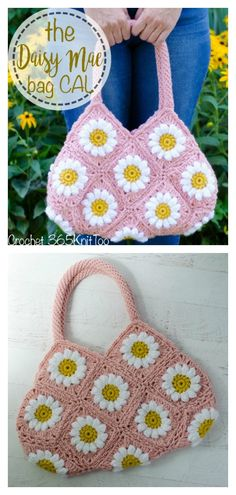 This Granny Square Crochet Bag is the perfect size for running quick errands around town. The Granny Square Bag Free Crochet Pattern is made entirely of granny squares that are joined together at the end. Granny Square Häkelanleitung, Granny Square Pattern Free, Crochet Granny Square Afghan, Granny Square Crochet Pattern, Crochet Patterns, Granny Squares, Crochet Blocks, Square Blanket, Afghan Patterns