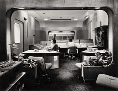 Loving the fantastic retro-futurism of the Studio Three control room at Abbey Road Studios, circa 1970. You just can't beat that combination of concrete, curves and massive consoles of buttons and dials. Thanks to the Fragmentedest of all Daniels for the link.    via: swisscheeseandbullets