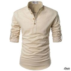 New Drop: Bali roll-up linen summer shirt now available in 4 colors at www.louiesupply.com