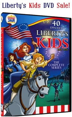 Liberty's Kids ~ The Complete Series DVD Sale: $6.99! {such a FUN series to help kids learn their History!}