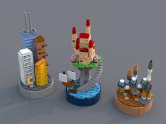 Micro Worlds - LEGO IDEAS – Product Ideas – Micro Worlds Effektive Bilder, die wir über diy face mask sewing - Minifigura Lego, Lego Craft, Lego Star, Lego Moc, Lego Design, Lego Disney, Legos, Lego Hacks, Casa Lego