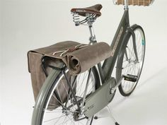 Brooks roll up panniers. Cannot possibly justify the price tag (£149.99) so will be rolling my own ASAP