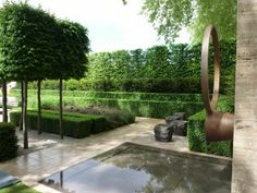 Laurent-Perrier appoint Luciano Giubbilei for 2011 / Chelsea Flower Show // Green Home Contemporary Garden Design, Garden Landscape Design, Landscape Architecture, Landscape Designs, Garden Show, Dream Garden, Small Gardens, Outdoor Gardens, Dutch Gardens