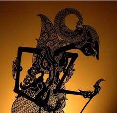 Wayang - Indonesian shadow puppets.