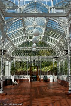 The Horniman Conservatory Conservatory Design, Conservatory Garden, Victorian Greenhouses, Backyard Buildings, Dream Properties, Shade Structure, Garden Structures, Glass House, Atrium