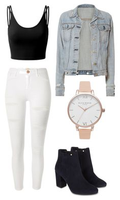 """Untitled #2"" by josephinemariex on Polyvore featuring Doublju, River Island, rag & bone, Monsoon and Olivia Burton"