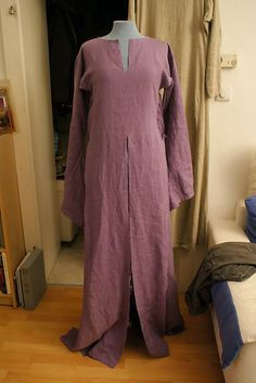 12th century dress- This is very similar to the one I made a couple years ago.
