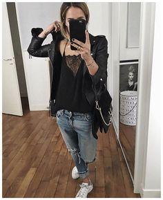 WEBSTA @ audreylombard - Pour celles qui demandaient, tous les liens Maison Irem des colliers ont été mis sur le blog (le code AUDREY15 est valable jusque ce soir minuit)!• Leather biker #hironae (from @hironaeparis)• Top #samsoe (from @monshowroom)• Jean #levis (old)• Sneakers #adidas (old)• Bag #chloe (on @monnierfreres)...