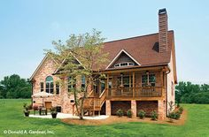 House Plan The Whiteheart by Donald A. Gardner Architects