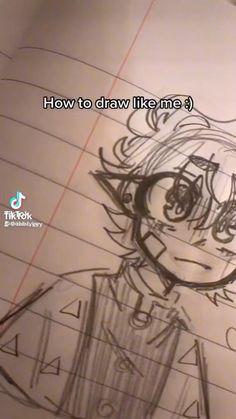 Body Drawing Tutorial, Sketches Tutorial, Cute Art Styles, Cartoon Art Styles, Art Drawings Sketches Simple, Cute Drawings, Anime Girl Drawings, Pencil Art Drawings, Art Inspiration Drawing