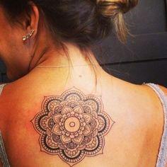 Tatuagem de mandala: fotos para inspirarPronta pra aderir a moda da tatuagem de mandala? Então relaxe e entre no clima zen que tem tudo a ver com o desenho...