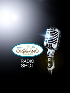 ThinkBAG created the Oregano brand, a Cook & Grill restaurant in Mykonos Grill Restaurant, Vintage Microphone, Mykonos, Grilling, Advertising, Audio, Cooking, Restaurant Steak, Kitchen