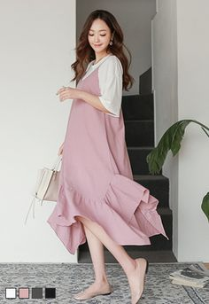 518a6260fe048 korean maternity clothes online The Korea style maternity. Lovely woman's a maternity  dresses, maternity dresses Korea [soim] [Maternity] One Piece
