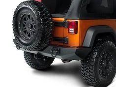 Rugged Ridge Xtreme Heavy Duty Rear Bumper, Textured Black (07-16 Wrangler JK)