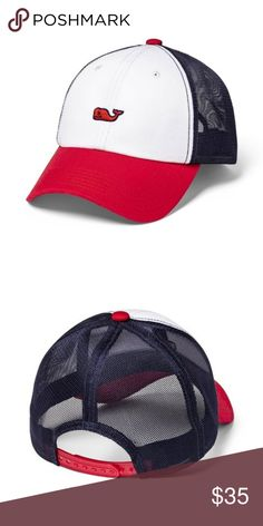 a2ae955c PRICE FIRM Vineyard Vines l Baseball Trucker Hat IN HAND VIneyard VInes for Target  Adult Baseball