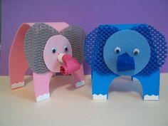 E is for ELEPHANT craft kit. $3.75, via Etsy.