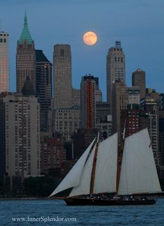 Super Moon over Manhattan ... June 23, 2013