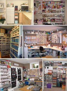 'Sorting Saturday - Making a Scrapbooking Area...!' (via A Scrapbook of Me)