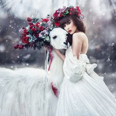 Amazing portrait by Margarita Kareva