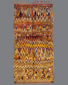 "Aït Bou Ichaouen ::: 13'4"" x 6'11"" ::: High Atlas Mountains, Morocco ::: c. 1930s"