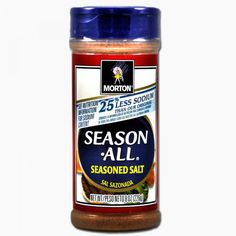 Morton Season All Less Sodium 226g (MHD12/16) 25% weniger Salz