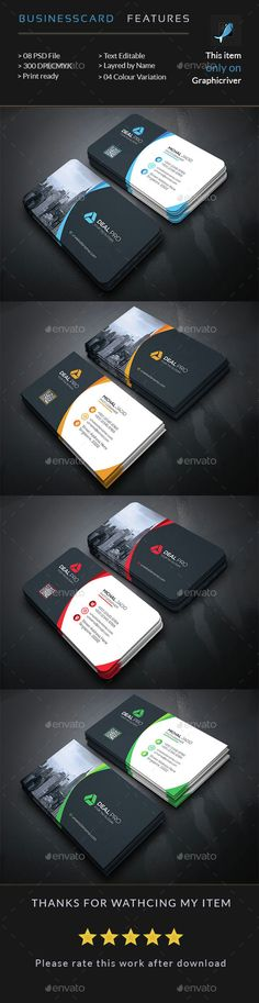 Creative Business Card Template PSD. Download here: http://graphicriver.net/item/creative-business-card/15198924?ref=ksioks