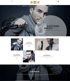 OT Geeman - отзывчивый Joomla! шаблон для магазина мужской одежды