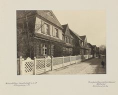 Prachtalbum Wohnstätten-Gesellschaft Königsberg Preußen Anfang 20er Jahre.