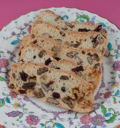Biscotti Thins _ cranberry pecan