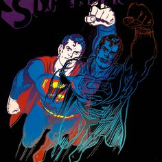 Superman - Andy Warhol