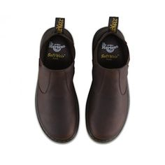 Dr Martens Mens Lyme Dark Brown Grizzly Leather Chelsea Boots 20832201