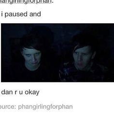 Dan is never okay
