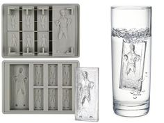 Han Solo Carbon Freeze Ice Cube Mold