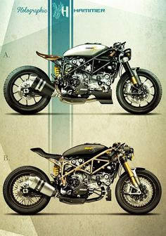 Racing Cafè: Cafè Racer Concepts - Ducati 999 2004 by Holographic Hammer