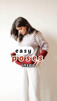 Diy Fashion Photography, Studio Photography Poses, Teenage Girl Photography, Photography Poses Women, Best Photo Poses, Girl Photo Poses, Self Portrait Poses, Stylish Photo Pose, How To Pose