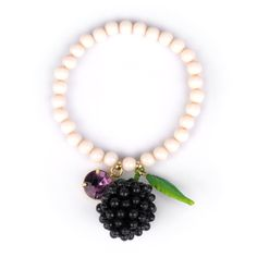 Collection Drôles de Fruits http://shop-n2.lesnereides.com/br/3259-plain-blackberry-bracelet.html