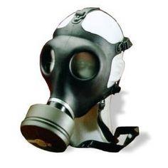 Gas mask http://www.amazon.com/gp/product/B0002XJ2OU/ref=as_li_ss_tl?ie=UTF8&tag=decmir-20&linkCode=as2&camp=1789&creative=390957&creativeASIN=B0002XJ2OU