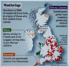 "People of the British Isles (POBI)  ""The people of Wales and Cornwall are different from the rest of southern and central England,"" said Peter Donnelly, professor of statistical science at Oxford University and director of the Wellcome Trust centre for human genetics."