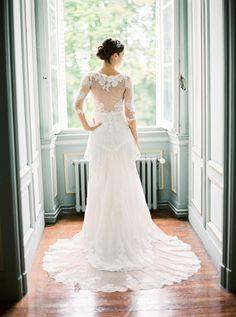 Blush Pink Real Wedding in France - Wedding Sparrow | Best Wedding Blog | Wedding Ideas