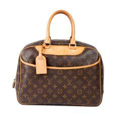 Louis Vuitton Leather Monogram Bag.