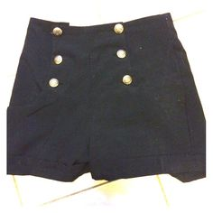 High top ringleader shorts Black high too ring leader esque shorts. Great for a Halloween costume! Shorts