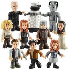 Character Building Doctor Who Micro Figures Series 2 - Single Figure Foil Bag (4 Random Packs):Amazon:Everything Else