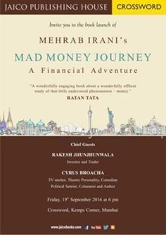 Mehrab Irani introduces a new form of writing - Finance Fiction