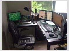 Setup Inspiration - DIY Computer Desk